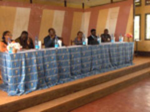 Samuel Wanko et Ernest Ouandié enseignés aux jeunes