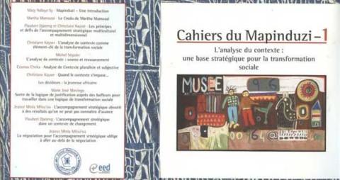 Les cahiers du Mapidunzi: Présentation