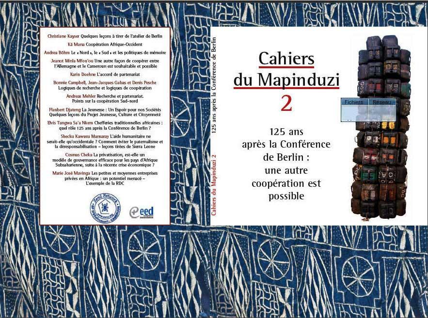 Le cahier du Mapinduzi 2