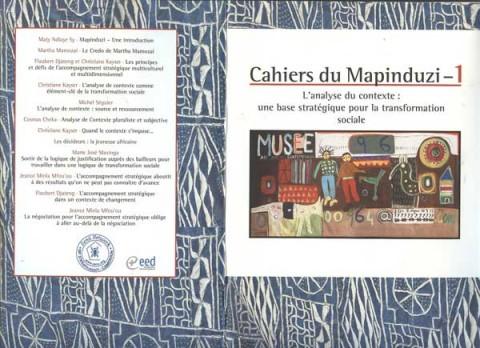Le cahier de Mapidunzi 1