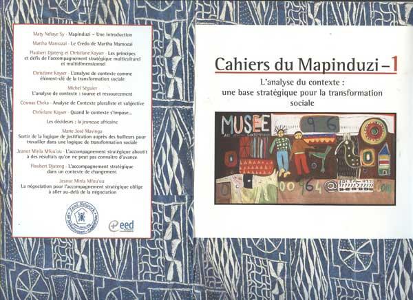 Le cahier du Mapinduzi