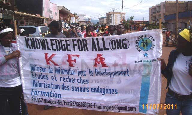 Lancement du festival 2011 à Mbouda