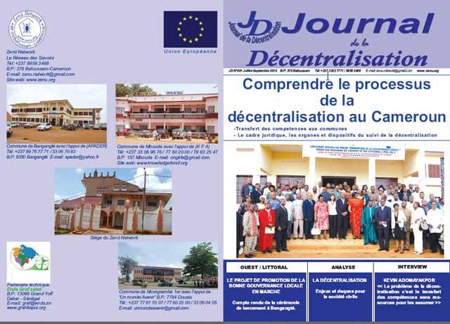 Le journal de la décentralisation