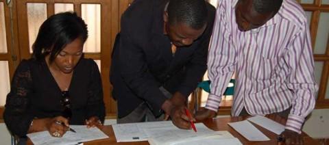 Charlie Tchikanda, candidat des OSC de l'Ouest pour le comité de pilotage