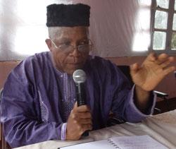 M.Wadji, 1er Adjoint au maire de Mbouda