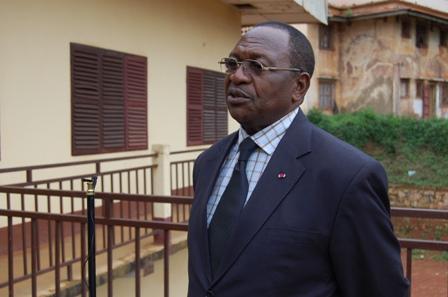 Dr. Bernard Momo, maire de la  commune de Dschang