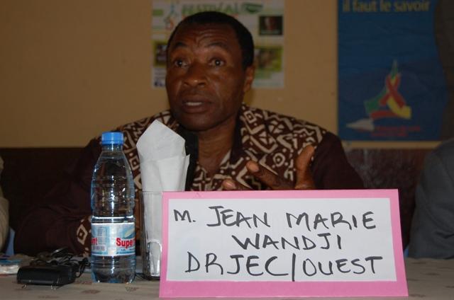 Mr. Jean Marie Wandji  DRJEC/OUEST