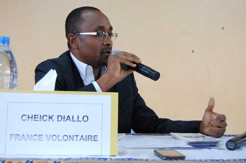 Cheick Diallo de France Volontaire