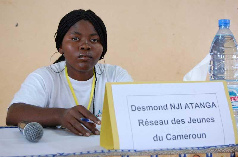Pauline Banseka du RJC