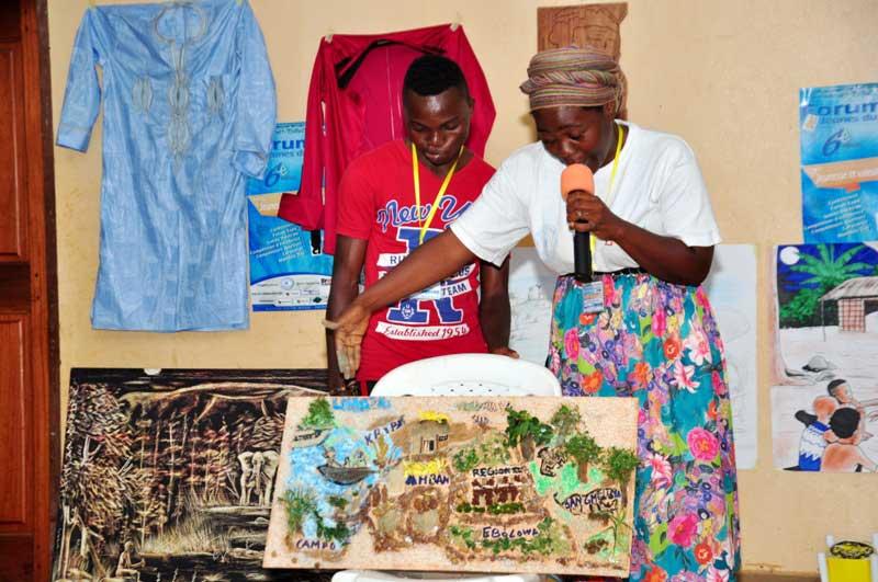 1er prix artisanat remporté par le Sud