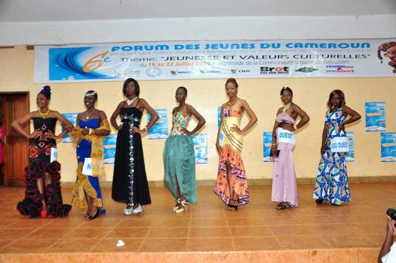 les candidates Miss des différentes région