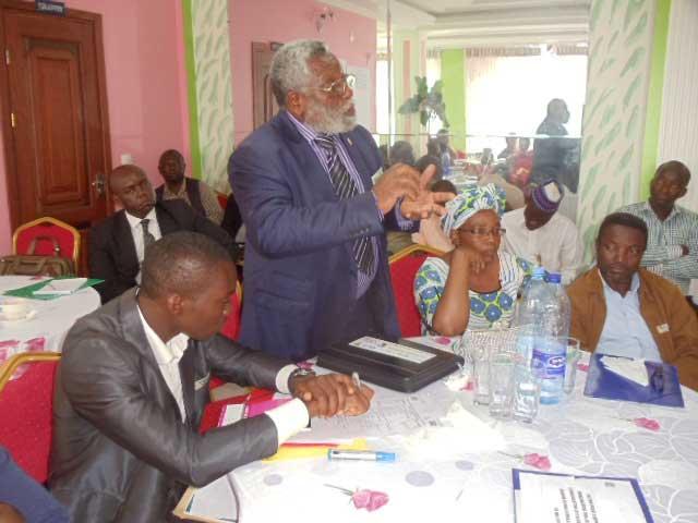 Intervention du député Oumbe Deffo Sangong