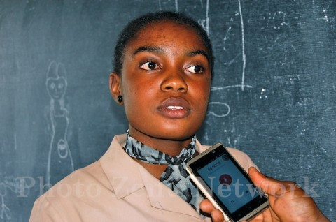 MEFFO  Solange, élève en classe de Tle D4 Lycée Bilingue de Bafoussam Diengdam