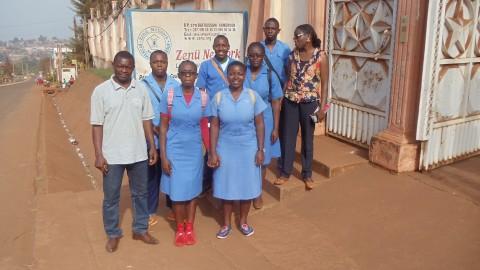 Le Cecin du Lycée classique de Bafoussam en visite à Zenü Network