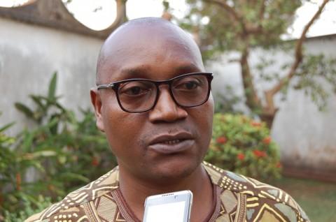 Philippe NANGA, Coordinateur de l'ONG Un monde Avenir