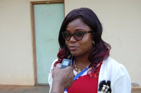 Tatiana CHOUDI, Présidente nationale du Réseau des Jeunes du Cameroun « Le Forum des Jeunes du Cameroun est comme mon bébé, je l'ai vu naître. Nous voulons travailler main dans la mains avec les autres associations des jeunes pour le rayonnement du Fjc »