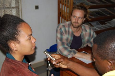 INTERVIEW :  Maximilian Hoeck et Tabita Ntanguen, volontaires allemands en séjour à Zenü Network :