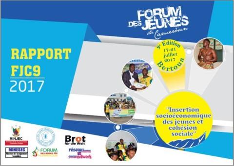 Rapport 2017 du Forum des jeunes du Cameroun
