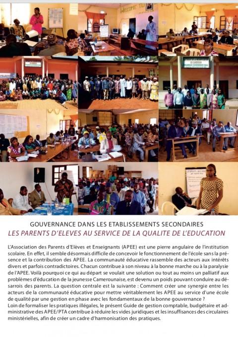 Activités des points focaux : Le Guide de Gestion présenté aux APEE de la Mifi