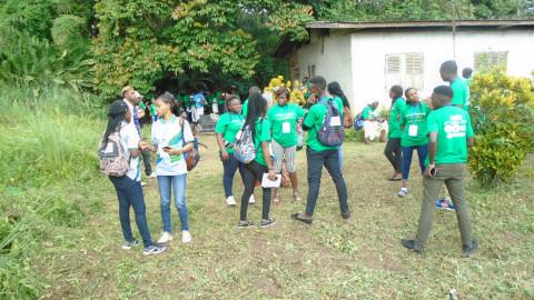 SORTIE DECOUVERTE : Les jeunes découvrent la dernière demeure de Mongo Beti