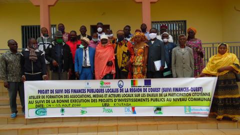 Commune de Koutaba : Le suivi citoyen des investissements publics préoccupe