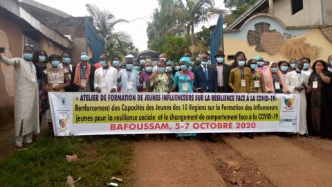 Bafoussam : Des leaders jeunes à l'école de la riposte contre la Covid-19