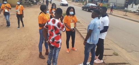 Mandela Day : Des jeunes sensibilisent sur le Covid-19 à Sangmélima – Région du Sud Cameroun – FJC 2021