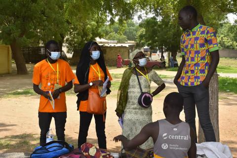 Mandela Day : Des jeunes sensibilisent sur le Covid-19 à Maroua – Région Extrême-Nord Cameroun – FJC 2021